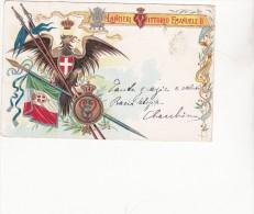 10° REGGIMENTO LANCIERI VITTORIO EMANUELE II - ANNO 1902 - SPEDITA A TIVOLI - Régiments