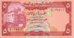 YEMEN   5 Rials   Non Daté (1991)    Pick 17 C       ***** BILLET  NEUF ***** - Yemen