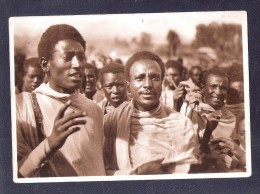 LARGE SIZE PC OF INDIGENI AL MERCATO DI OSAINA GAMBATA DOMESTIC MARKET OF OSAINA GAMBATA GUINEA GUINEE - Guinea