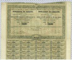 Cie Du Chemin De Fer De Palencia à Ponferrada Ou Du Nord Ouest De L'Espagne, 1862 - Chemin De Fer & Tramway