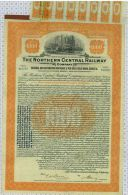 The Northern Central Railway, Pennsylvania And Maryland - Chemin De Fer & Tramway