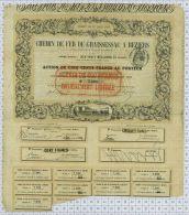 Chemin De Fer De Graissesac à Beziers, 1852 - Chemin De Fer & Tramway