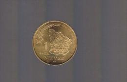 1 EURO De La NIEVRE . 20 000 Exemplaires . - Euros Of The Cities