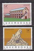 PGL BM1064 - LUXEMBOURG Yv N°1266/67 ** - Unused Stamps