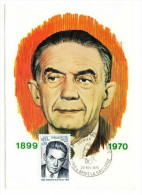 France / Maximum Cards / Famous Persons / Edmond Michelet - Cartoline Maximum