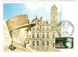 France / Maximum Cards / Famous Persons / Army / Diego Brosset - Cartoline Maximum