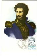 France / Maximum Cards / Famous Persons / Army / General Daumesnil - Cartoline Maximum