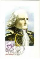 France / Maximum Cards / Famous Persons / Marshal Moncey - Cartoline Maximum