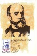 France / Maximum Cards / Famous Persons / Eugene Fromentin - Cartoline Maximum