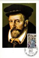 France / Maximum Cards / Famous Persons / Amiral De Coligny - Cartoline Maximum