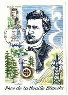 France / Maximum Cards / Famous Persons / Science / Amistide Berges - Cartoline Maximum