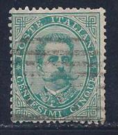 Italy, Scott # 45 Used Humbert L, 1879, Short Perfs - Used