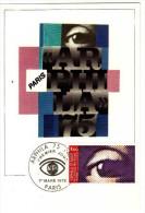 France / Maximum Cards / Art - 1970-79