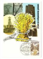 France / Maximum Cards / Economy / Industry - 1970-79