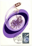 France / Maximum Cards / Art / Futuristic / Horses / Space - 1970-79