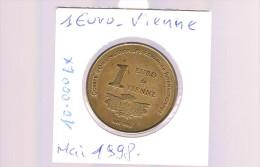1 EURO De VIENNE . 10 000 Exemplaires . - Euros Of The Cities