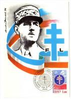 France / Maximum Cards / History / Liberation Of France - Cartoline Maximum