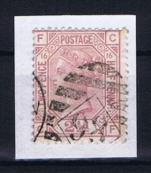 Great Britain SG  141 Plate 16 Used  Yv 56 1873 - 1840-1901 (Victoria)