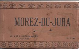 CARNET SIX CPA DETACHABLES MOREZ DU JURA, VOIR 4 SCANS - Morez