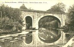 Lèves. Le Pont Du Chemin De Fer à Lèves. - Lèves