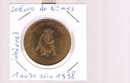 20 EURO De NIMES . 4 000 Exemplaires . - Euros Of The Cities