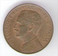 ITALIA 2 CENTS 1917  VITTORIO EMANUELE III - 1861-1946 : Regno