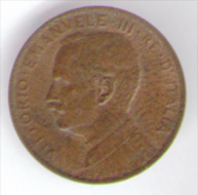 ITALIA 1 CENT 1916  VITTORIO EMANUELE III - 1861-1946 : Regno