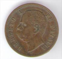 REGNO D' ITALIA - 2 CENTESIMI - UMBERTO I (1897 - ZECCA: ROMA) - ITALIAN KINGDOM - - 1861-1946 : Regno