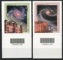 ITALIA / ITALY 2012** - Osservatorio Astronomico Di Brera E Capodimonte - 2 Val. Con Codice A Barre Come Da Scansione - Astronomùia
