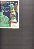 D23 - Nouveau Plan De ROMA (italie) - 77 Cm X 99 Cm - E. VERDOSI Editore Roma - Europe