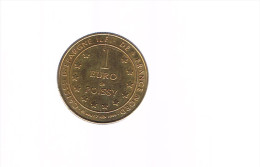 1 EURO De POISSY . 5 000 Exemplaires . - Euros Of The Cities