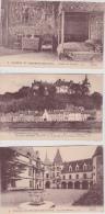 14 / 3 /159  -  LOT  DE  13  CPA  DU  CHÂTEAU  DE  CHAUMONT -SUR-LOIRE - Toutes Scanées - Cartoline