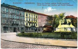 POZSONY ... HOTEL SAVOY AND CARLTON - Hungría