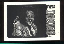 2 éme Série N° 5  -  Black & Blues  -  Fats Domino  -  Ilustration Jean Philippe Porcherot  02/96 - Musique Et Musiciens