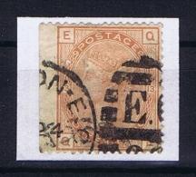 Great Britain SG  151 Plate 13 Used  1873  Small Pinhole Beside Eye - Gebruikt