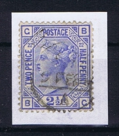 Great Britain SG  157 Plate 22 Used  1880 - 1840-1901 (Victoria)