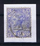 Great Britain SG  157 Plate 22 Used  1880 - 1840-1901 (Viktoria)