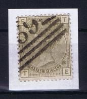 Great Britain SG  160 Plate 17  Used  1880 - Gebruikt