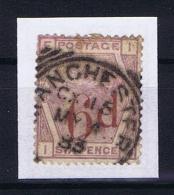 Great Britain SG  162A  Slanting Dots Used  1880  Has A Thin Spot - Gebruikt