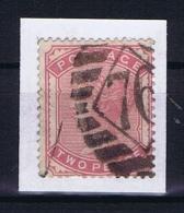Great Britain SG  168 A Used 1880  Deep Rose - Gebruikt
