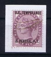 Great Britain SG  173 Private Overprint UK Temperance & General PI - Gebruikt