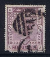 Great Britain SG  178, Used 1883, Yvert 86 Left Bottom Corner Is Not Damage But Ink - Gebruikt