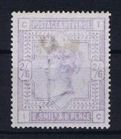 Great Britain SG  178, MH/*  1883, Yvert 86 Stain Of Hinge - Ongebruikt