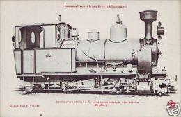 France Railway French Locomotive Postcard (82568) - Non Classés