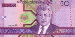 TURMENISTAN  50  Manat   Emission De 2005    Pick 17      ***** BILLET  NEUF ***** - Turkménistan