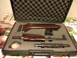 Carabine à Plombs Démontable QB 57 En Calibre 4.5 Mm En Valise - Decorative Weapons