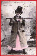 [DC6342] CARTOLINA FOTOGRAFICA - I PACCHIONI - Viaggiata 1902 - Old Postcard - Moda