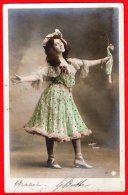 [DC6345] CARTOLINA FOTOGRAFICA - MODA - DONNA ABITO - WALERY PARIS - Viaggiata - Old Postcard - Moda