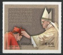 ITALIA / ITALY 2014** - Concistoro Per La Creazione Di Nuovi Cardinali - 1 Val. Autoadesivo Come Da Scansione - 6. 1946-.. Repubblica