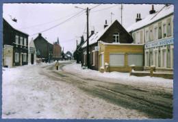 Carte Postale 59. Moncheaux  Sous La Neige Trés Beau Plan - France